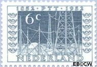 Nederland NL 593  1952 Postzegeltentoonstelling I.T.E.P. 6 cent  Postfris