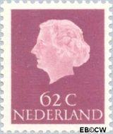 Nederland NL 631  1958 Koningin Juliana- Type 'En Profile' 62 cent  Gestempeld