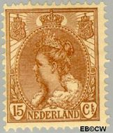 Nederland NL 64  1899 Koningin Wilhelmina- 'Bontkraag' 15 cent  Gestempeld