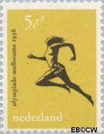 Nederland NL 677  1956 Olympische Spelen- Melbourne 5+3 cent  Gestempeld