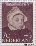 Nederland NL 685  1956 Kinderportretten 7+5 cent  Gestempeld