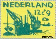Nederland NL 725  1959 Deltawerken 12+9 cent  Gestempeld
