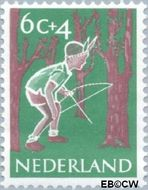 Nederland NL 732  1959 Activiteiten kinderen 6+4 cent  Gestempeld