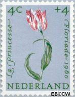 Nederland NL 738  1960 Bloemen 4+4 cent  Postfris