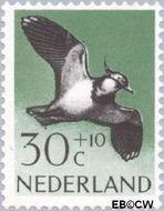 Nederland NL 756  1961 Vogels 30+10 cent  Gestempeld