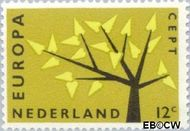 Nederland NL 777  1962 C.E.P.T.- Boom 12 cent  Postfris
