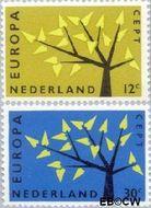 Nederland NL 777#778  1962 C.E.P.T.- Boom   cent  Gestempeld