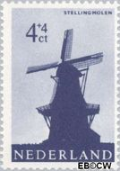 Nederland NL 786  1963 Molens 4+4 cent  Gestempeld