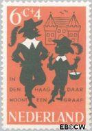 Nederland NL 803  1963 Kinderrijmpjes 6+4 cent  Postfris
