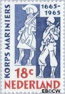 Nederland NL 855#  1965 Korps Mariniers  cent  Gestempeld