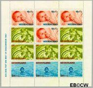 Nederland NL 875  1966 Levensstadia kind  cent  Gestempeld