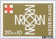 Nederland NL 891  1967 Rode Kruis 20+10 cent  Gestempeld
