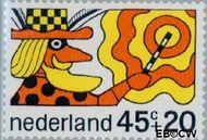 Nederland NL 916  1968 Sprookjesfiguren 45+20 cent  Gestempeld
