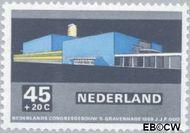 Nederland NL 924  1969 Architectuur 45+20 cent  Gestempeld