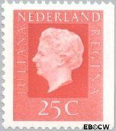 Nederland NL 940  1973 Koningin Juliana- Type 'Regina' 25 cent  Gestempeld