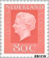 Nederland NL 950  1969 Koningin Juliana- Type 'Regina' 80 cent  Gestempeld