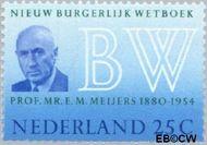 Nederland NL 963#  1970 Nieuw Burgerlijk Wetboek  cent  Gestempeld
