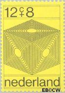 Nederland NL 965  1970 Computertekeningen 12+8 cent  Postfris
