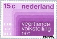 Nederland NL 984#  1971 Volkstelling  cent  Postfris
