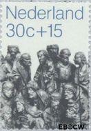 Nederland NL 988  1971 Kerkbeelden 30+15 cent  Gestempeld