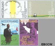 Nederland NL 992#995  1971 Prins Bernhard  cent  Gestempeld