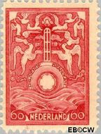 Nederland NL BK2  1921 Vervoer in drijvende brandkast 60 cent  Gestempeld