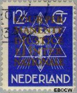 Nederland NL D12  1934 Cour Permanente de Justice 12½ cent  Gestempeld