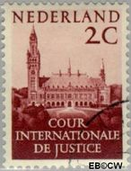 Nederland NL D27  1951 Cour Internationale de Justice 2 cent  Gestempeld