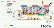 Nederland NL E290  1992 Olympische Spelen- Albertville  cent  FDC zonder adres