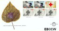 Nederland NL E299a  1992 Rode Kruis  cent  FDC zonder adres