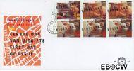 Nederland NL E321a  1994 Ouderen en telefooncirkel  cent  FDC zonder adres