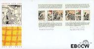 Nederland NL E349  1996 Strippostzegels Heer Bommel  cent  FDC zonder adres