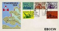 Nederland NL E38  1959 Deltawerken   cent  FDC zonder adres