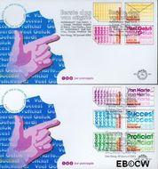 Nederland NL E451ab  2002 Felicitatie- zegels  cent  FDC zonder adres