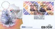 Nederland NL E472  2002 Postzegeljubileum 2002  cent  FDC zonder adres