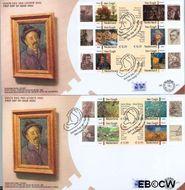 Nederland NL E477ab  2003 Vincent van Gogh  cent  FDC zonder adres