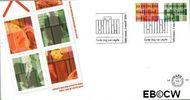 Nederland NL E496  2004 Zakelijke postzegels  cent  FDC zonder adres