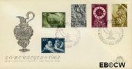 Nederland NL E51  1962 Museumvoorwerpen   cent  FDC zonder adres