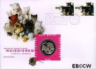 Nederland NL ECU033  1998 Huisdieren  cent  Postfris