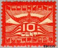 Nederland NL LP1  1921 Luchtrecht 10 cent  Gestempeld