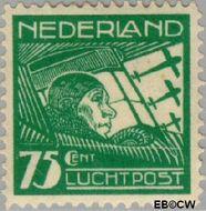 Nederland NL LP5  1928 Luchtrecht 75 cent  Gestempeld