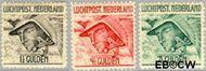 Nederland NL LP6#LP8  1929 Luchtrecht  cent  Gestempeld