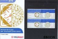 Nederland NL M275  2003 Johan Enschedé  cent  Postfris