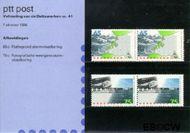 Nederland NL M41  1986 Voltooiing Deltawerken  cent  Postfris