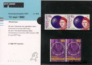 Nederland NL M95a  1992 C.E.P.T.- Ontdekking Amerika  cent  Postfris