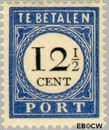 Nederland NL P23  1894 Portzegel 12½ cent  Gestempeld