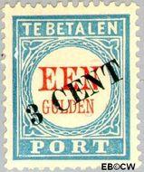 Nederland NL P27  1910 Portzegel 3 op 100 cent  Gestempeld