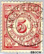 Nederland NL PW6  1884 Gebruik op postbewijsformulieren 500 cent  Gestempeld