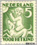Nederland NL R87  1930 Jaargetijden 5+3 cent  Gestempeld