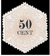 Nederland NL TG9  1877 Betaling telegraaf 50 cent  Gestempeld